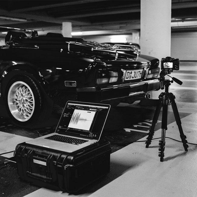 Oldtimer Fiat Spider 124 Videoproduktion Düsseldorf MIND FABRIC