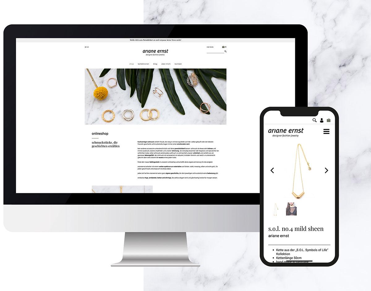 onlineshop ecommerce programmierung werbeagentur düsseldorf mind fabric
